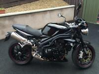 2009 Triumph Speed Triple 1050 John Bloor