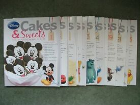 Lot of 15 Issues of Disney Cakes and Bakes Magazine recipes, baking, food