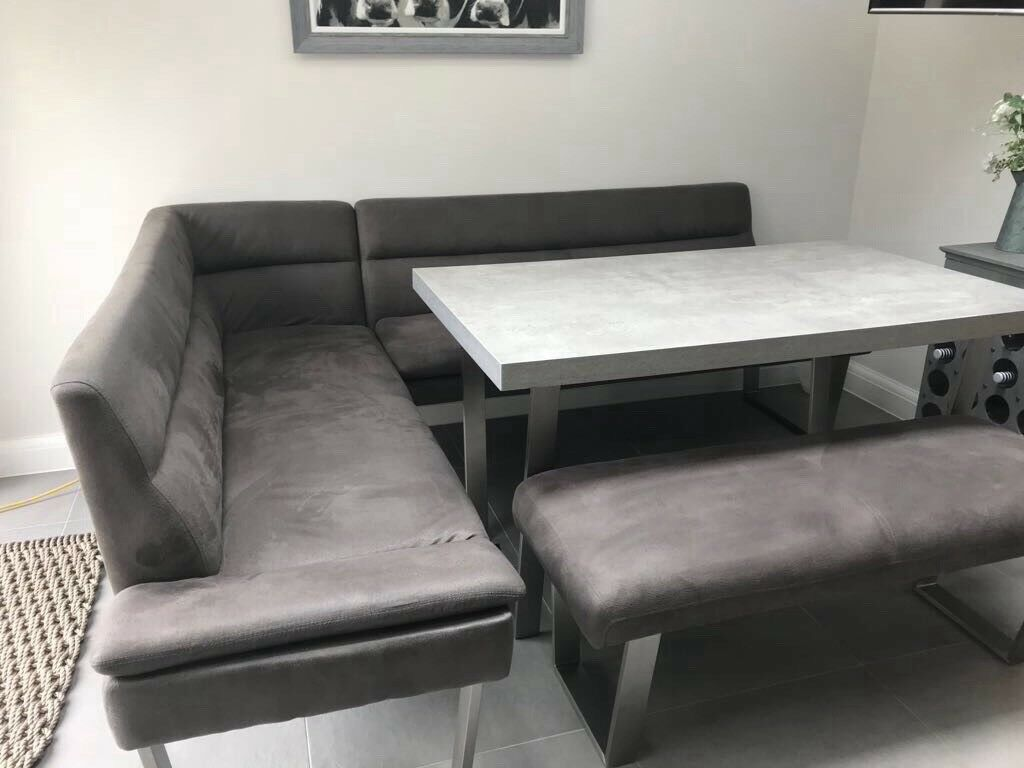 Casa Petra Corner Dining Table And Bench In Cardiff Gumtree