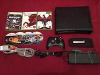 Xbox 360 elite 120GB + 7 Games
