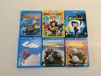 Selection of 6 Childrens Blu-ray films