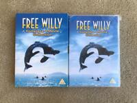 NEW FREE WILLY COMPLETE 4 MOVIE COLLECTION DVDS