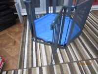 Fabric sided playpen
