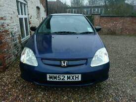 2002/03 Honda Civic 1.4