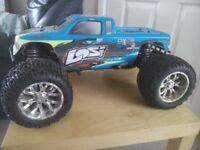 Losi XXL nitro monster truck 1/8, hpi savage