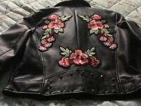Brand New by Zara Embroidered /Studded Jacket S/M