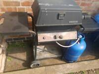 BBQ GAS including bottle