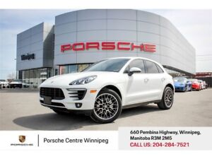 2015 Porsche Macan S Certified Pre-Owned With Warranty Available