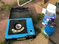 Camping stove/water container