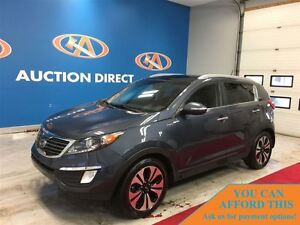 2011 Kia Sportage SX, PANO ROOF, LEATHER, BLUETOOTH, FINANCE NOW