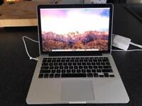MacBook Pro - 13in Retina / 1tb HD / 16gb ram / 2.8 i7