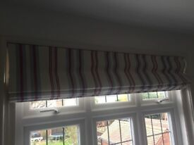 Beautiful Stripe Roman Blind