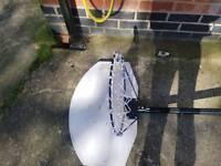 Badketball net and stand