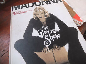 Madonna Girlie Show 1994 inc CD