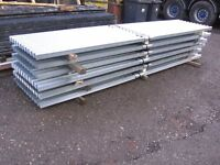 galvanised galv corrogated & box profile roofing sheets 8ft 10ft 12ft x 2ft wide preston lancashire