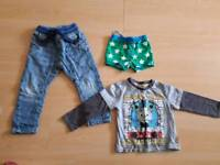 1-2 Years Boys Clothing