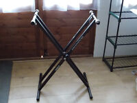 Black Duronic Piano Keyboard Stand