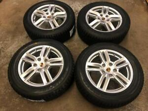18 PORSCHE Cayenne Stock Wheels 5x130 and Winter Tire Package (Porsche Cayenne) Calgary Alberta Preview