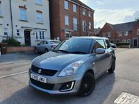 SUZUKY SWIFT FACELIFT SZ3 MODEL 1.2 PETROL LOW MILES 37K YEAR 2015 £30 TAX PER YEAR GREAT CONDITION!