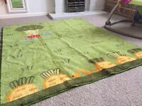 Ikea children's bedroom/nursery rug