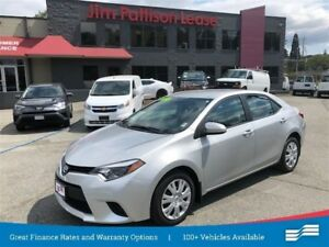 2014 Toyota Corolla LE w/heated seats,backup cam,bluetooth