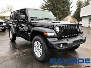 2019 Jeep Wrangler Unlimited Sport S | 4x4 | BLUETOOTH