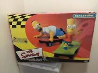 SCALEXTRIC THE SIMPSONS SKATEBOARD CHASE