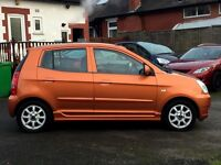 (54) KIA PICANTO SE1.0L, ONLY 61,OOO MILES, 12MONTHS MOT, 2 FORMER KEEPERS, HPI CLEAR, 2 KEYS