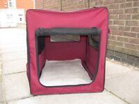 Folding Fabric Dog Cage