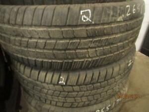 265/70R18 3 ONLY  MICHELIN USED A/S TIRES