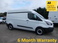 Ford Transit Custom 2.2 TDCi 125 330 LWB H/Roof**FULL FORD HISTOTY**12 MONTH MOT**LEASE Co DIRECT**