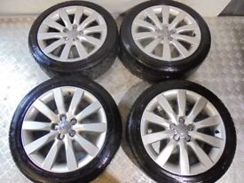 Audi A1 16 Inch 5x100 Alloy Wheels 8X0601025G