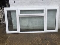 Wide upvc window H:119.5 cm W:242.5 cm