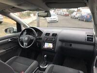 LHD LEFT HAND DRIVE Volkswagen TOURAN MPV 2.0 TDI SE DSG 7-Seat 5dr NAVIGATION