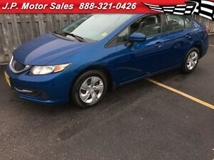 2014 Honda Civic LX, Heated Seats, Bluetooth, Only 50,000km