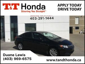2012 Honda Civic *C/S*EX * Bluetooth/USB, Sunroof *