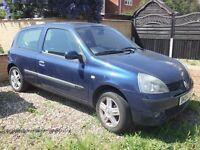 2004 Renault Clio 1.2 16v Dynamique 3 door - 96k - **12 Months MOT** - Cheap Tax 50+ mpg New Cambelt