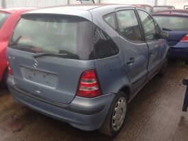 Breaking for parts 2004 Mercedes A.-class good doors bonnet bumpers tailgate