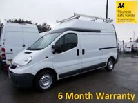 Vauxhall Vivaro 2.9T 2.0 CDTi 115 LWB H/Roof GREAT CAMPER VAN CONVERSION OPPORTUNITY