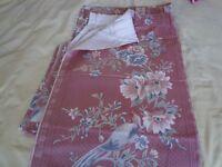 Vintage curtain / furniture covering material pieces - unused