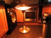 firefly electric table top patio heater.
