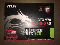 MSI NVIDIA GTX 970 GAMING 4G Graphics Card