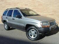 2001 Jeep Grand Cherokee Laredo. 4.0 L Seectrac! WOW! Only 17600