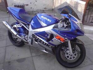 2003 Suzuki GSX-R 600 *only 14km!*