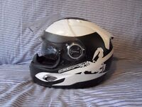 Scorpion Exo 1000 AIR motorcycle crash helmet Size S 56cm with cloth bag