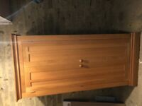Solid Oak Wardrobe - excellent condition