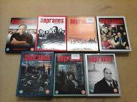 Complete Sopranos Series 1-6 Amazon £35 US ONLY £18