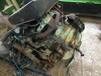 Landrover ex military petrol engine and other bits