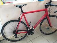 Men's large Carbon Fibre racing bike - Felt