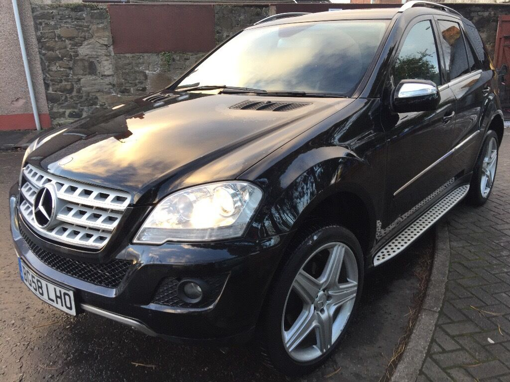 Mercedes benz m class suv 2008 2012 w164 facelift 3 0 for 320 mercedes benz